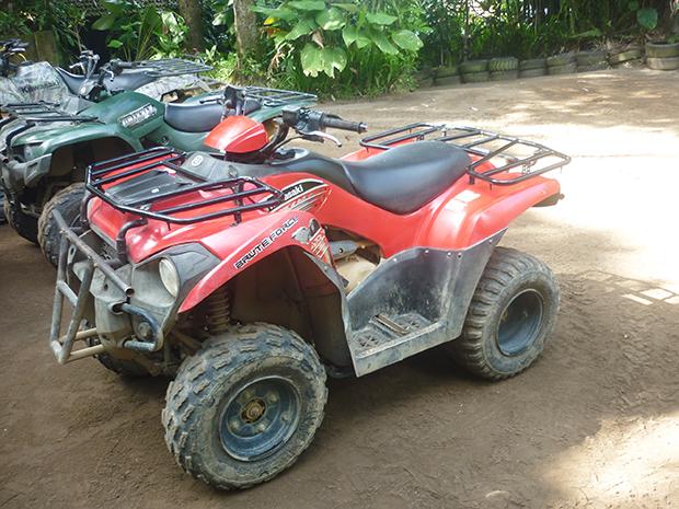 四輪バイク(ATV)1人のり用