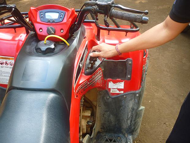 四輪バイク(ATV)変速機