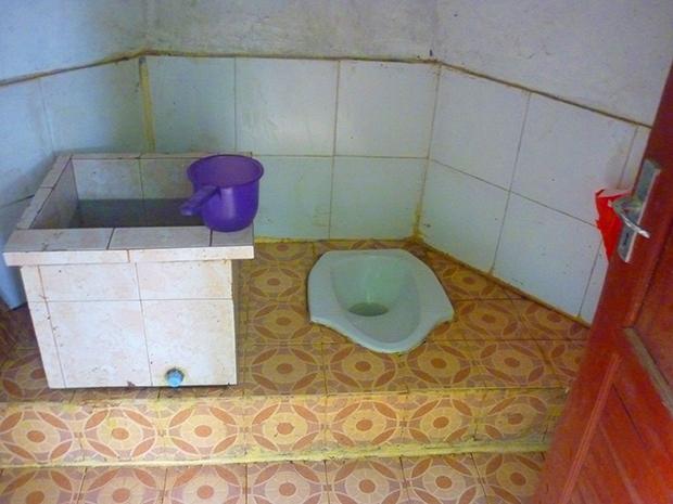 トイレの中の状態
