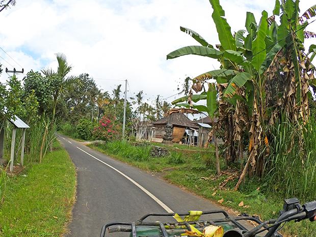 ATVライドコース写真(舗装路)