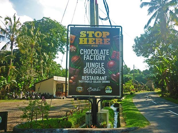 ジャングルバギー入り口看板