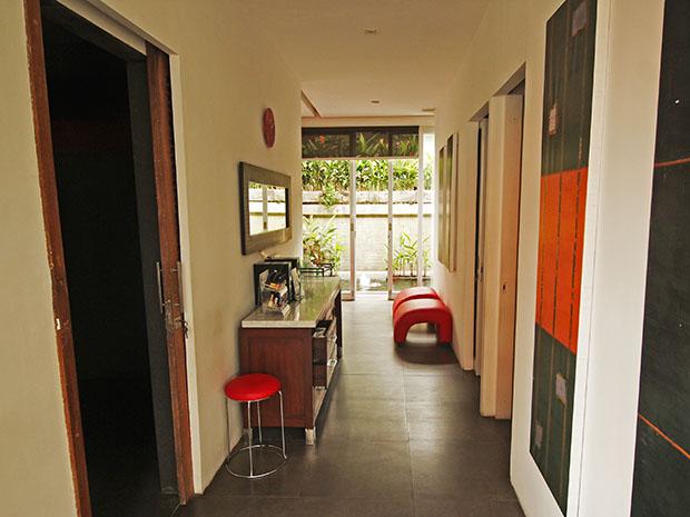 タマンメラースパ内部の廊下