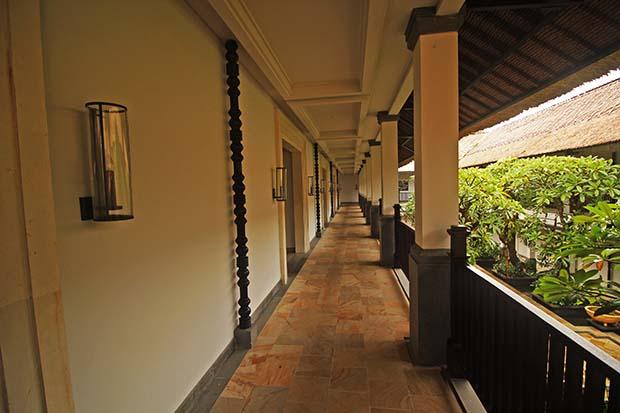テルムマランバリ・スパ棟廊下部の写真
