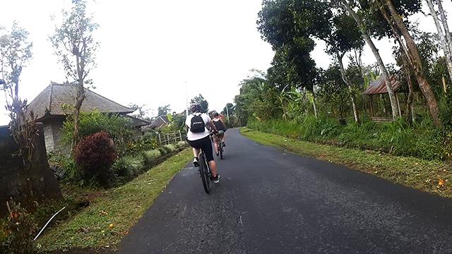 村の中の道