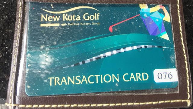 トランザクションカード